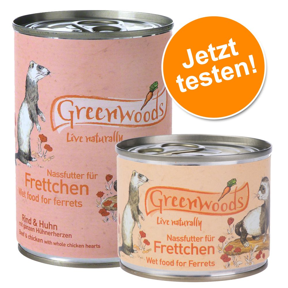 Gemischtes Paket: Greenwoods Nassfutter für Fre...