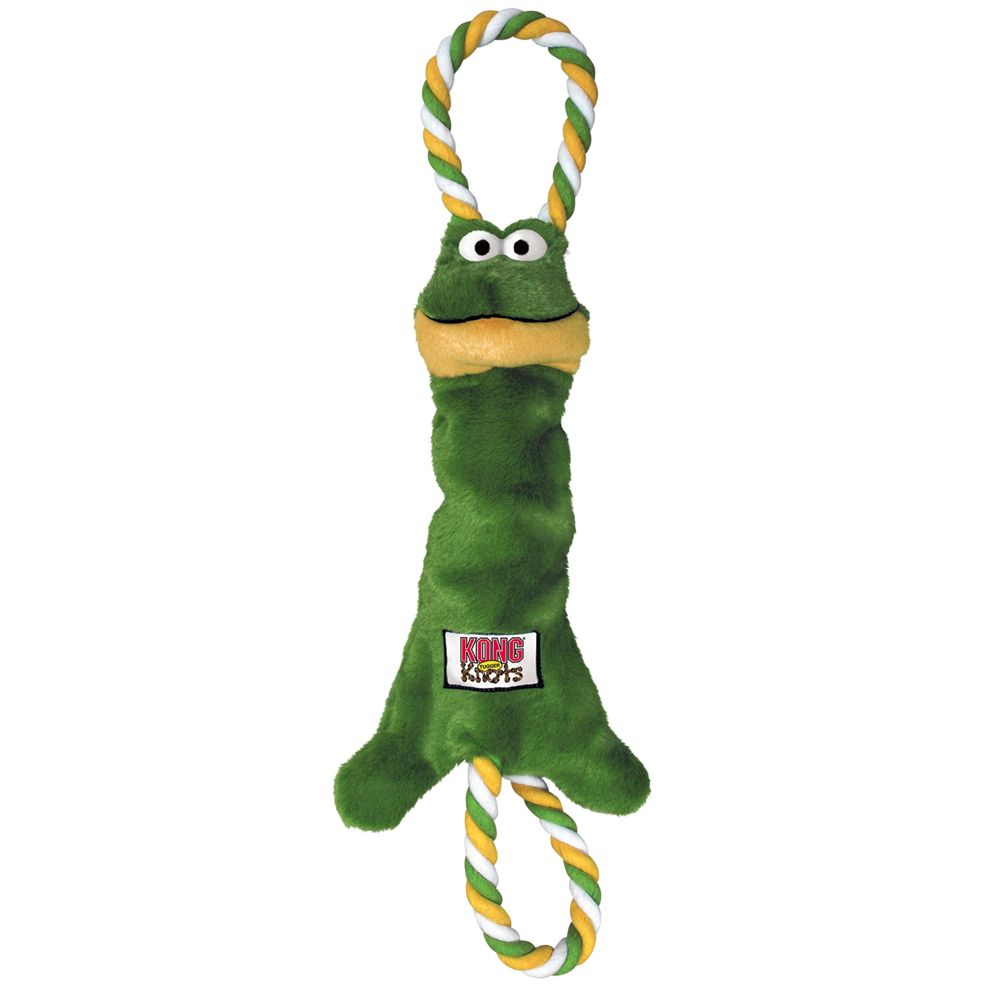 Small/Medium KONG Tugger Knots Frog