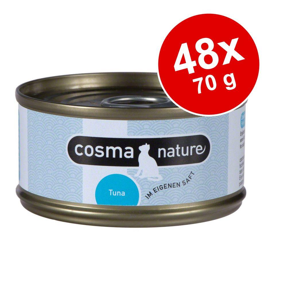 Ekonomipack: Cosma Nature 48 x 70 g - Lax