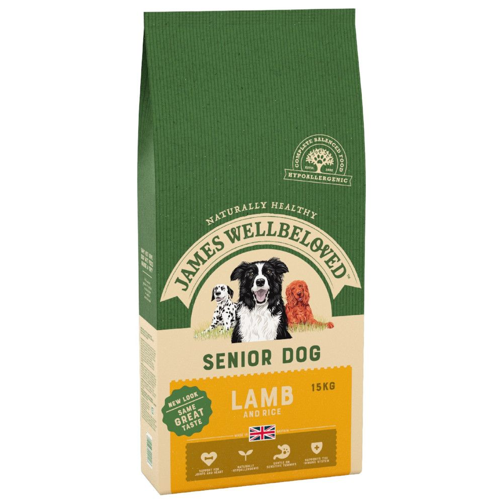 Senior Lamb & Rice James Wellbeloved Dry Dog Food