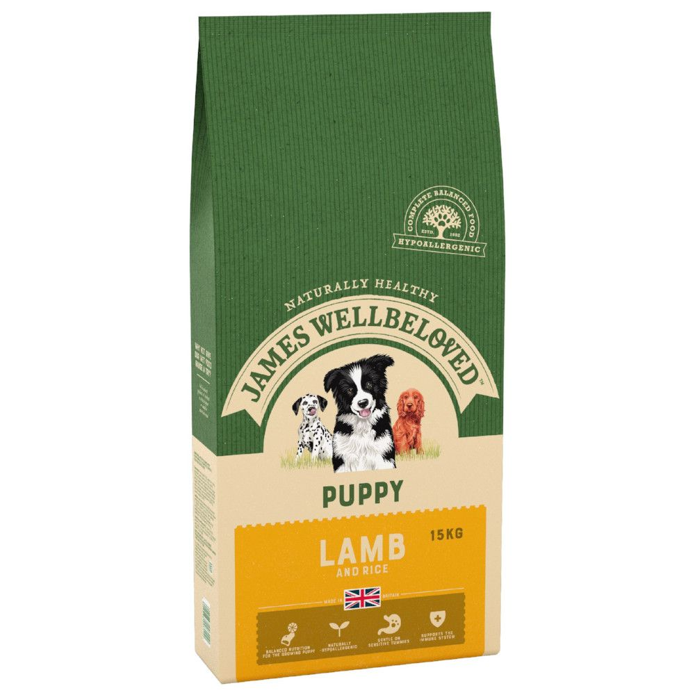 James Wellbeloved Puppy Lamb & Rice Dry Dog Food