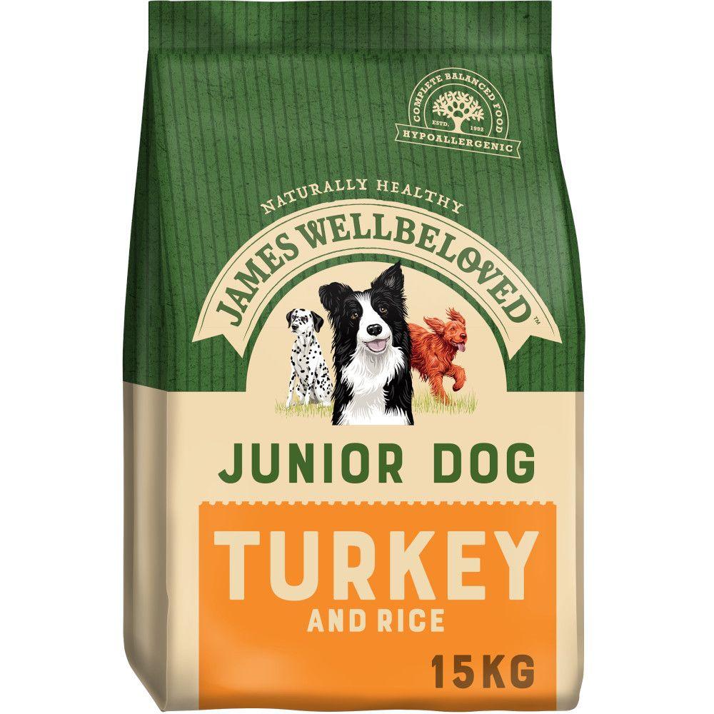 James Wellbeloved Junior - Turkey & Rice - 15kg
