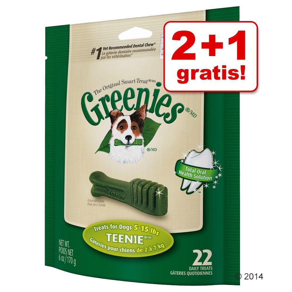 2 + 1 gratis! Greenies pr