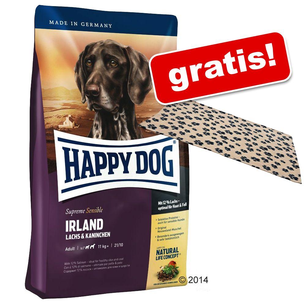 Großgebinde Happy Dog Supreme + Fleecedecke gratis! - Fit & Well Light 2 - Low Fat (12,5 kg)