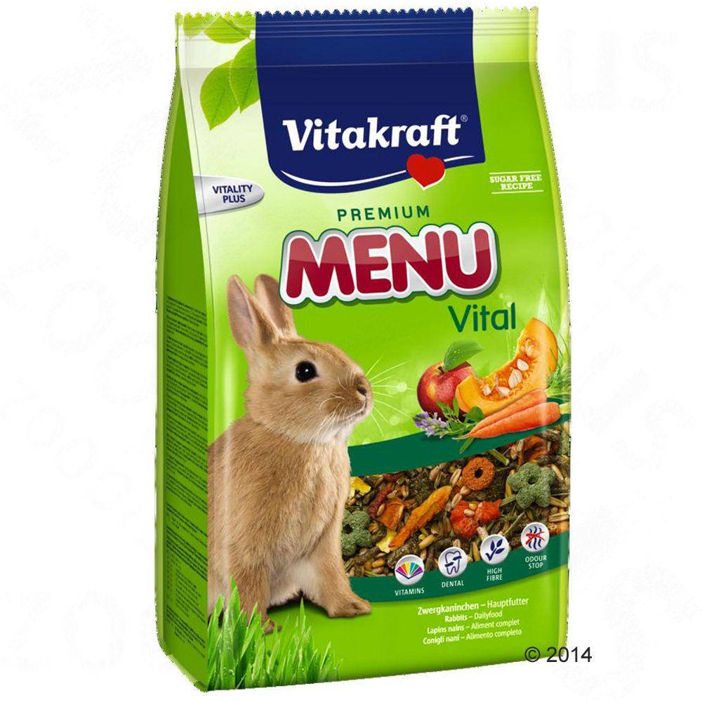 Vitakraft Menu Vital pour lapin nain - 5 kg