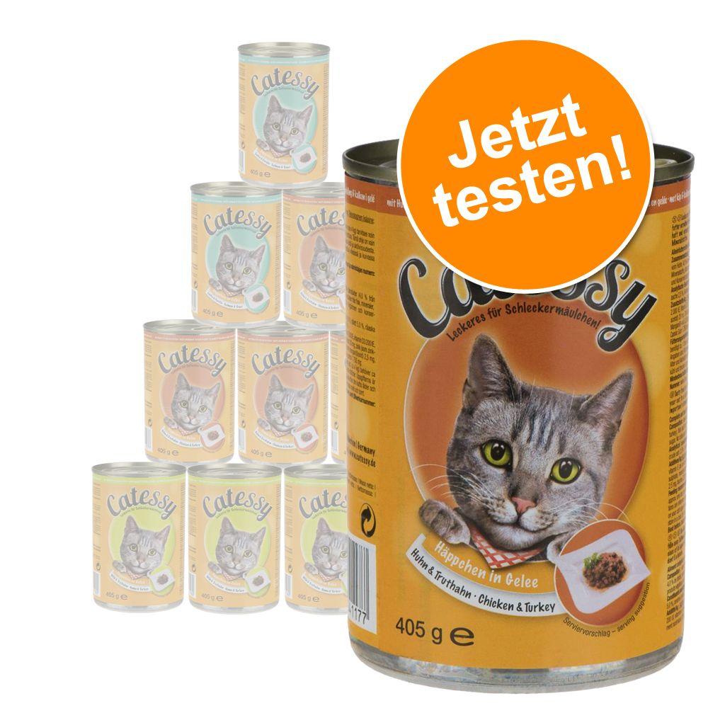 Probierpaket: Catessy Häppchen in Gelee oder Sauce - Sauce 12 x 415 g