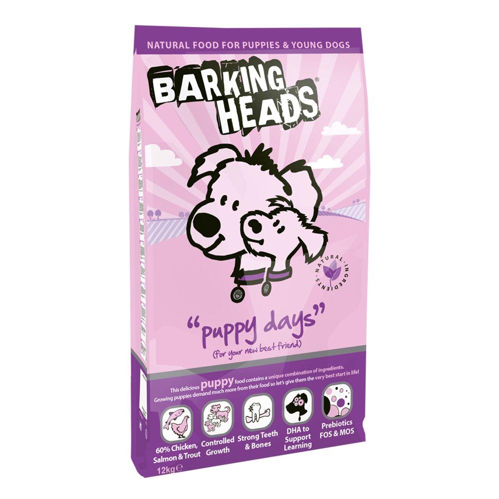 Barking Heads Puppy Days Chicken & Salmon - 12kg