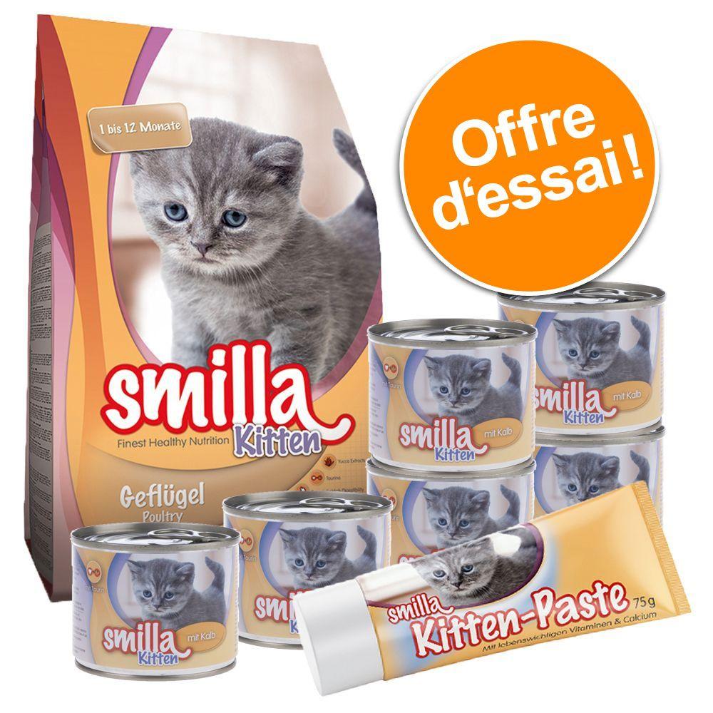 Chat Croquettes ★ Smilla Croquettes Smilla pour chaton