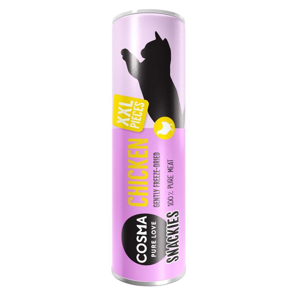 Cosma Snackies XXL poisson blanc Friandises pour chat - Friandises lyophilisées pour chat