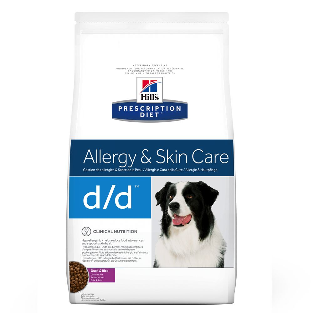 Duck & Rice d/d Allergy & Skin Care Hill's Prescription Diet Dry Dog Food