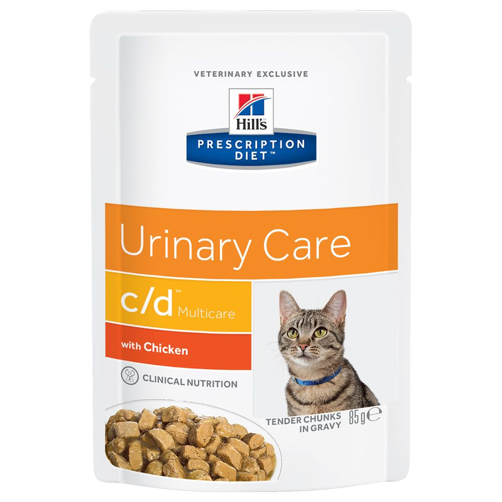 Multicare Chicken Pouches Feline Hill's Prescription Diet Wet Cat Food