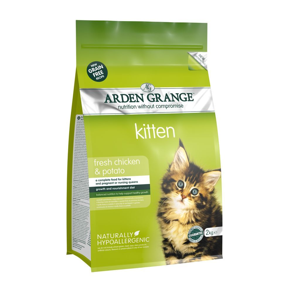 Arden Grange Chicken & Potato - Kitten - 2kg