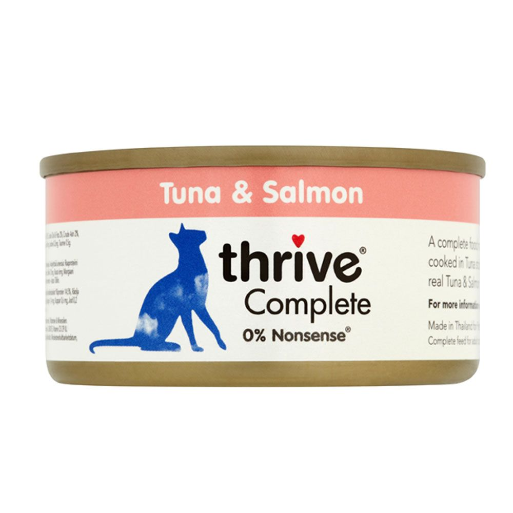 Tuna & Salmon thrive Complete Wet Cat Food