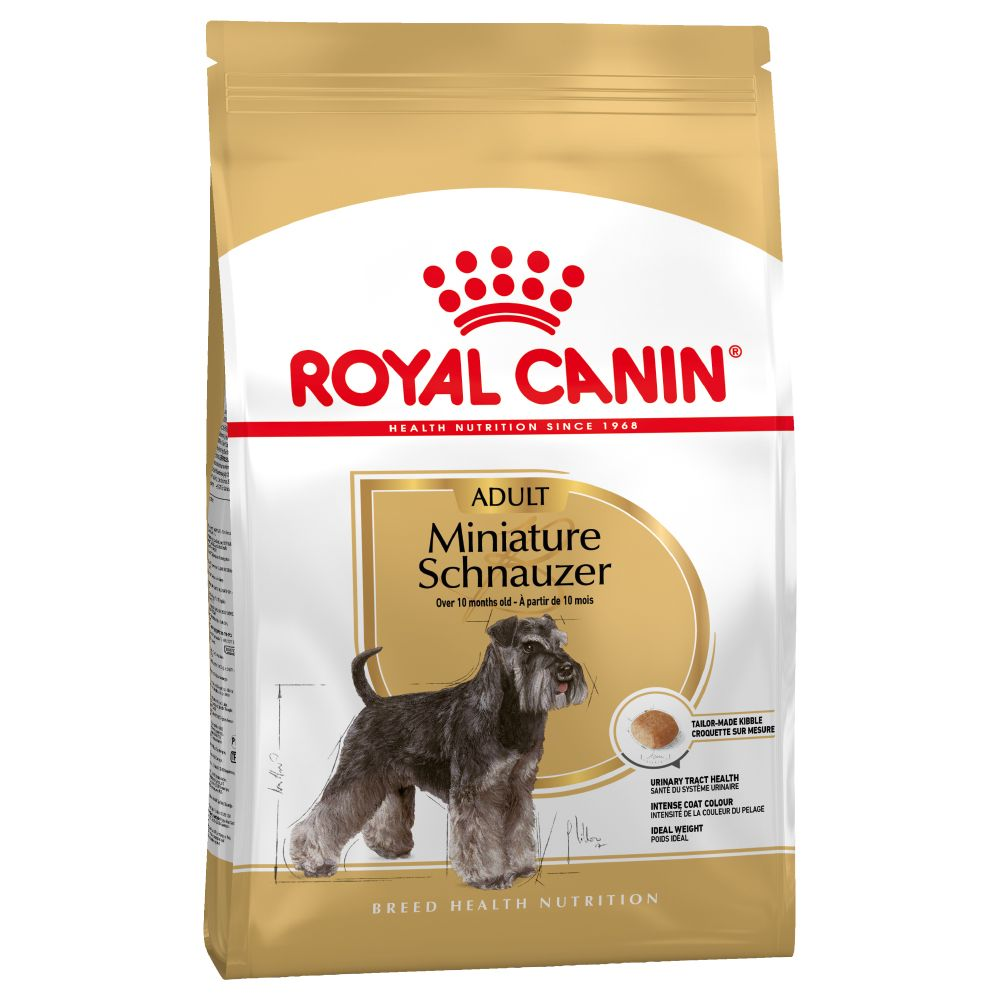 2x7.5kg Miniature Schnauzer Adult Royal Canin Dry Dog Food