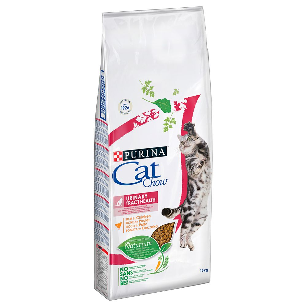 15kg Urinary Tract Health Cat Chow Adult Special Care Croquettes pour chat