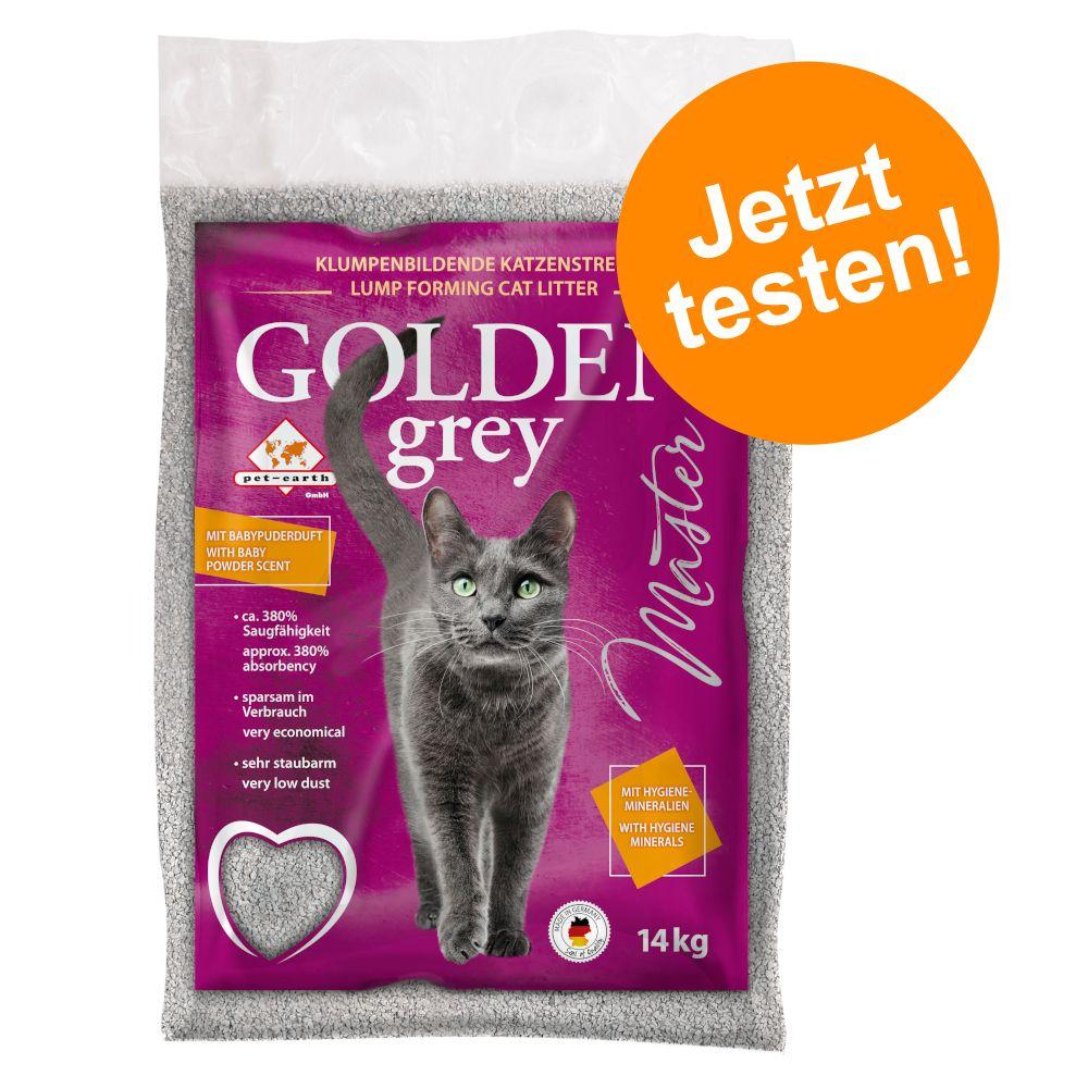 Jetzt testen: 14 kg Golden Katzenstreu - Golden Grey Master
