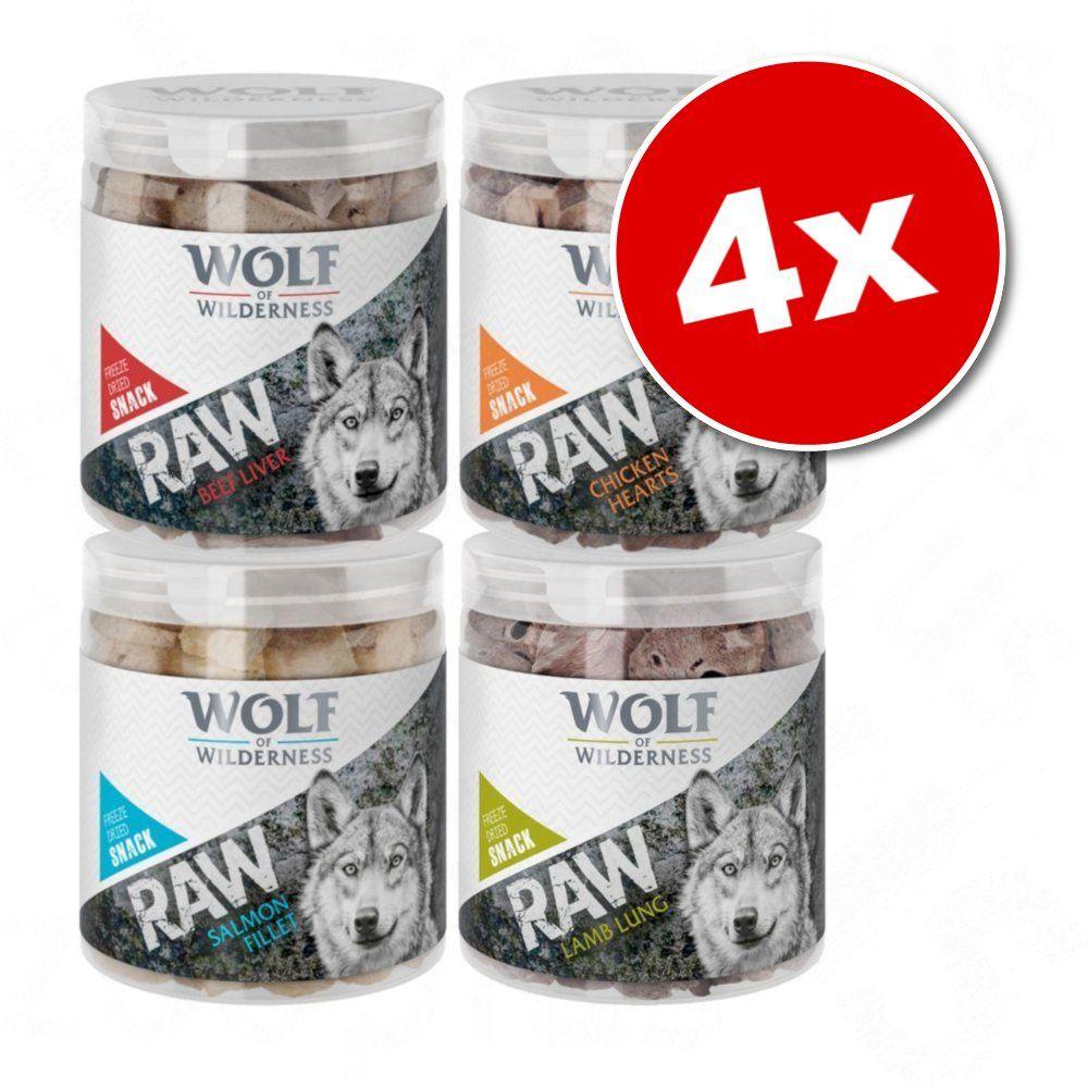 200g Friandises lyophilisées premium poumon d'agneau Wolf of Wilderness - Friandises pour chien
