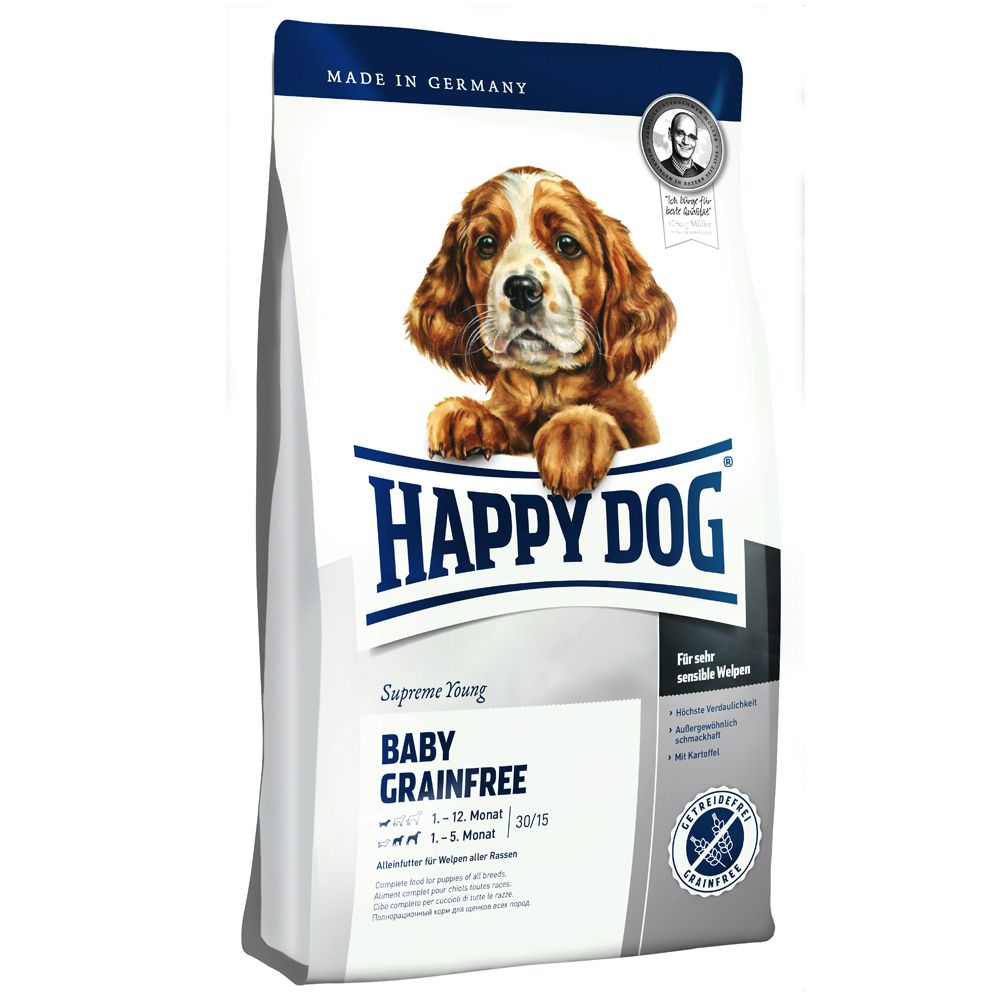 Foto Happy Dog Supreme Baby Grain free - 12,5 kg Happy Dog Supreme Young Happy Dog Supreme Junior