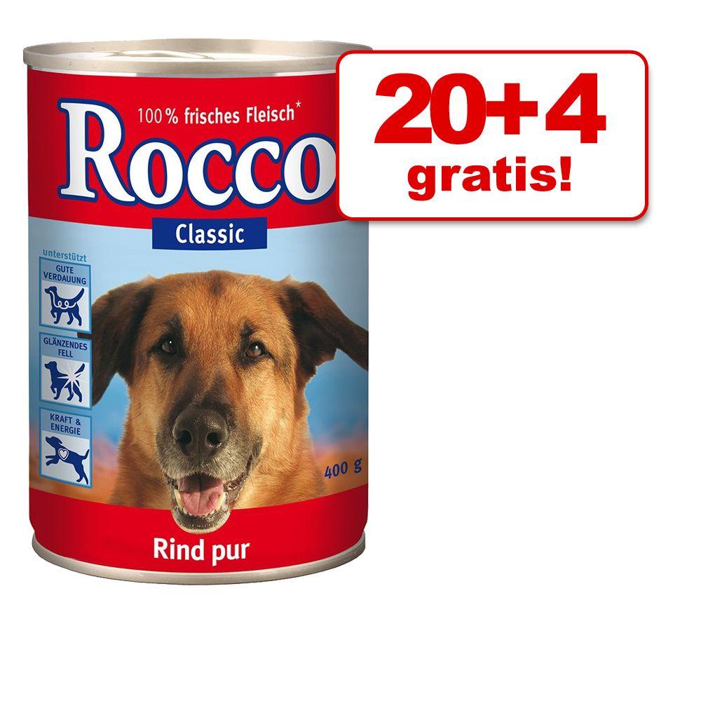 20 + 4 gratis! Rocco Clas