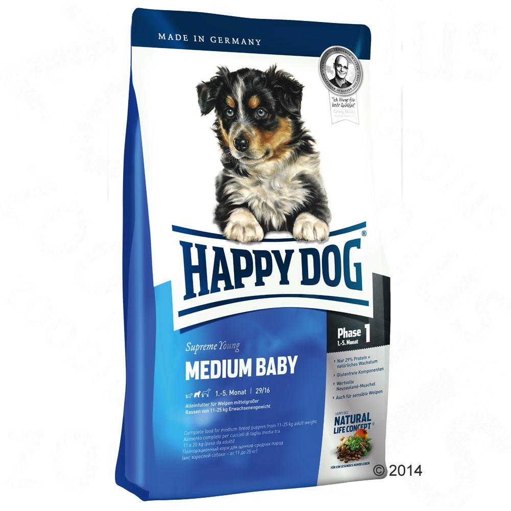 Happy Dog Supreme Young Medium Baby (Faza 1) - 10 kg