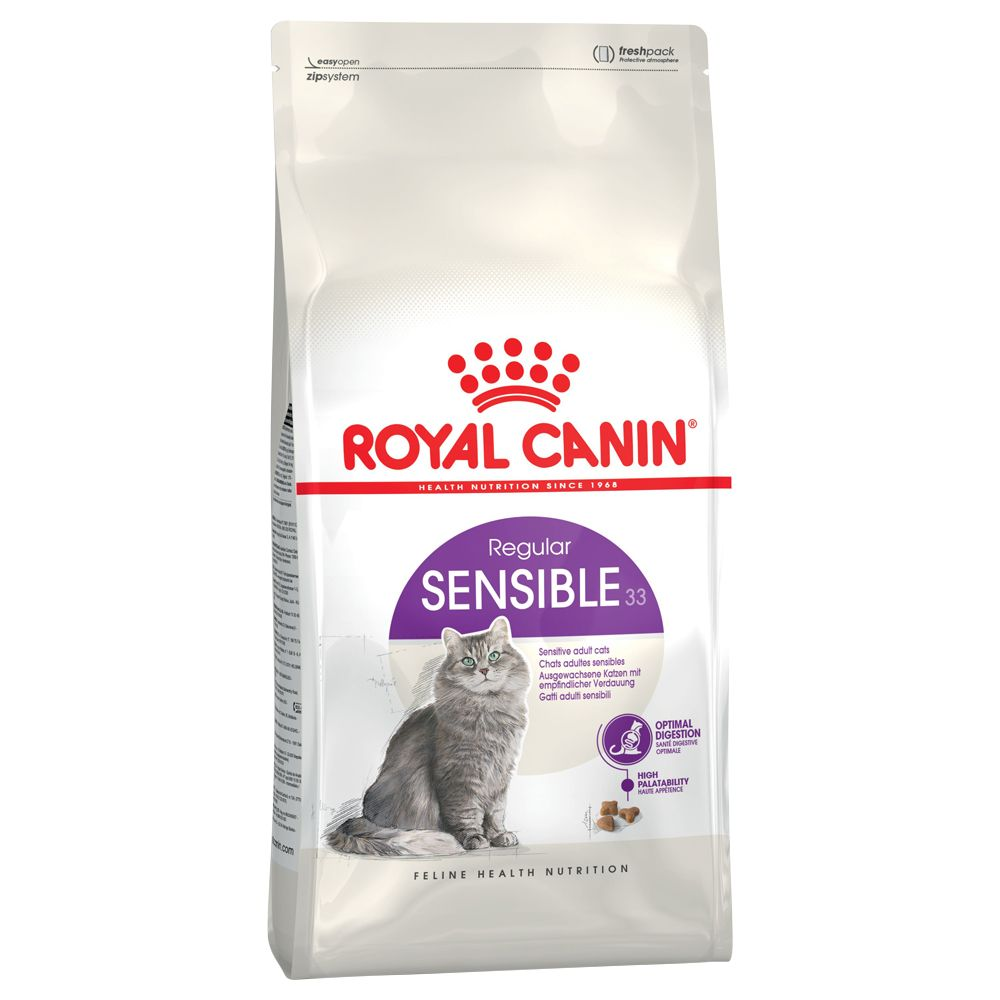 Royal Canin Feline Dry Cat Food Economy Packs - Sterilised 12+ Cat 2 x 4kg
