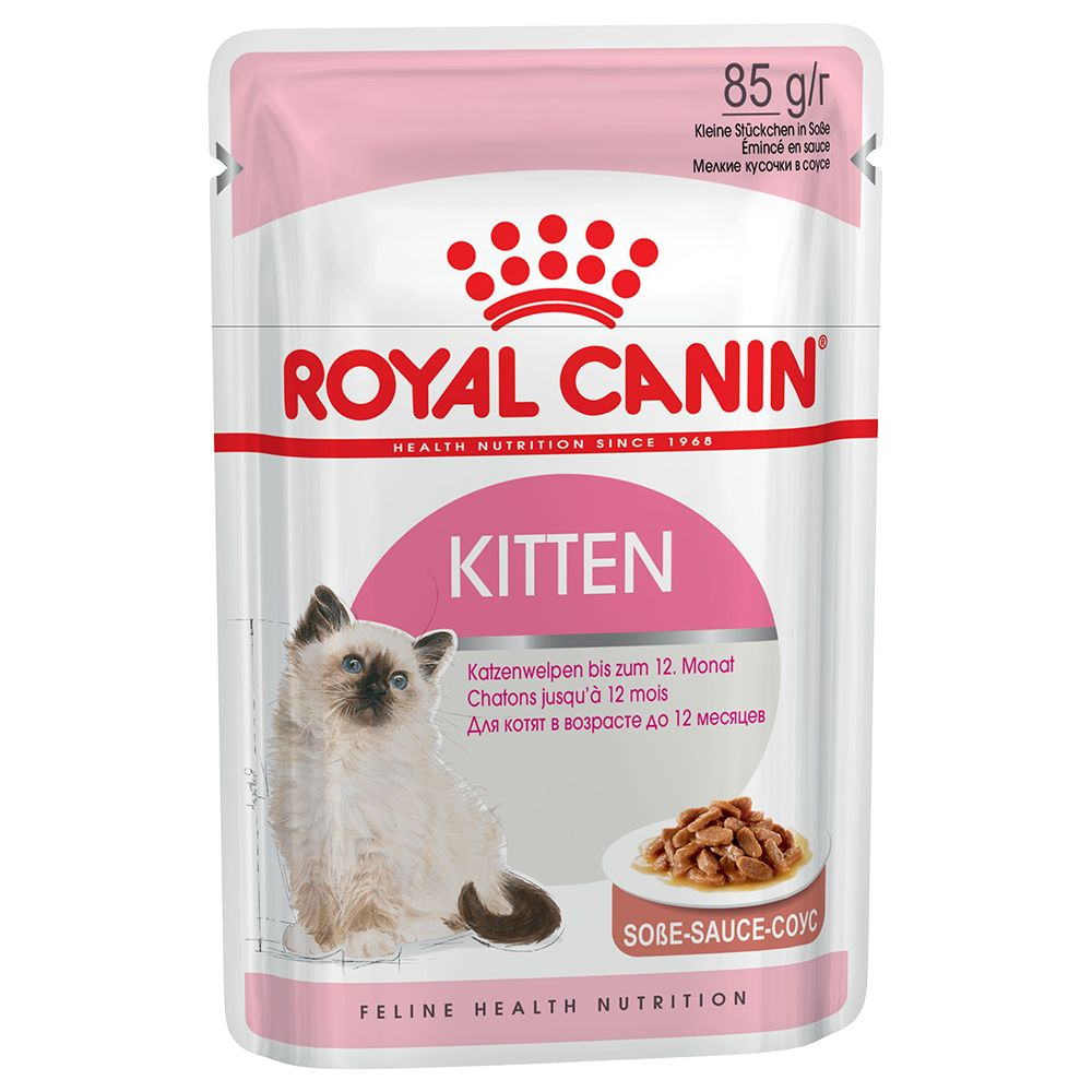48x85g Kitten Instinctive with Gravy Royal Canin Wet Cat Food