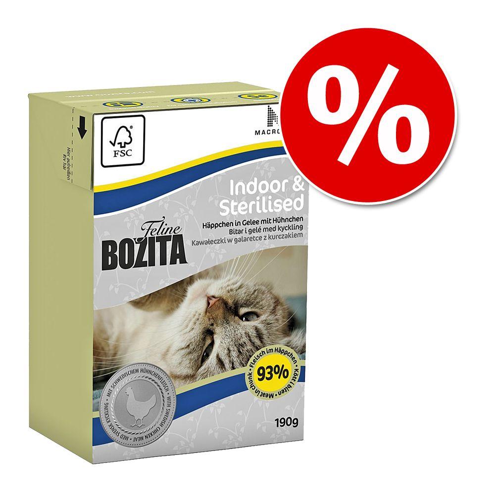 32 x 190 g Bozita Feline w galarecie w super cenie! - Large