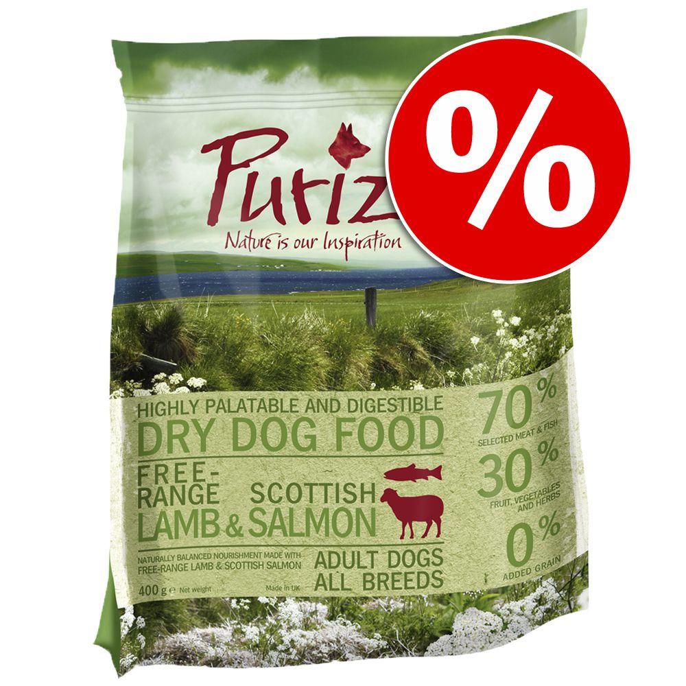 400 g Purizon Adult dla psa, jagnięcina z łososiem w super cenie! - 400 g
