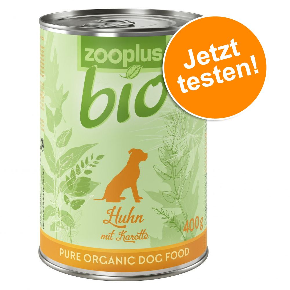 zooplus Bio Probierpakete 6 x 400 g / 6 x 800 g...