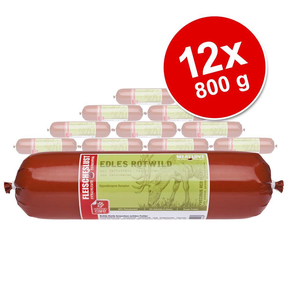 Image of Set Risparmio! Fleischeslust 12 x 800 g - Pollame raffinato con Patate dolci e Camomilla