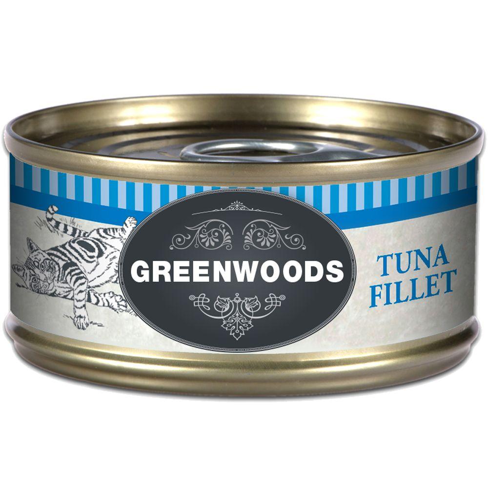 Greenwoods Adult – Tuna - 6 x 70g