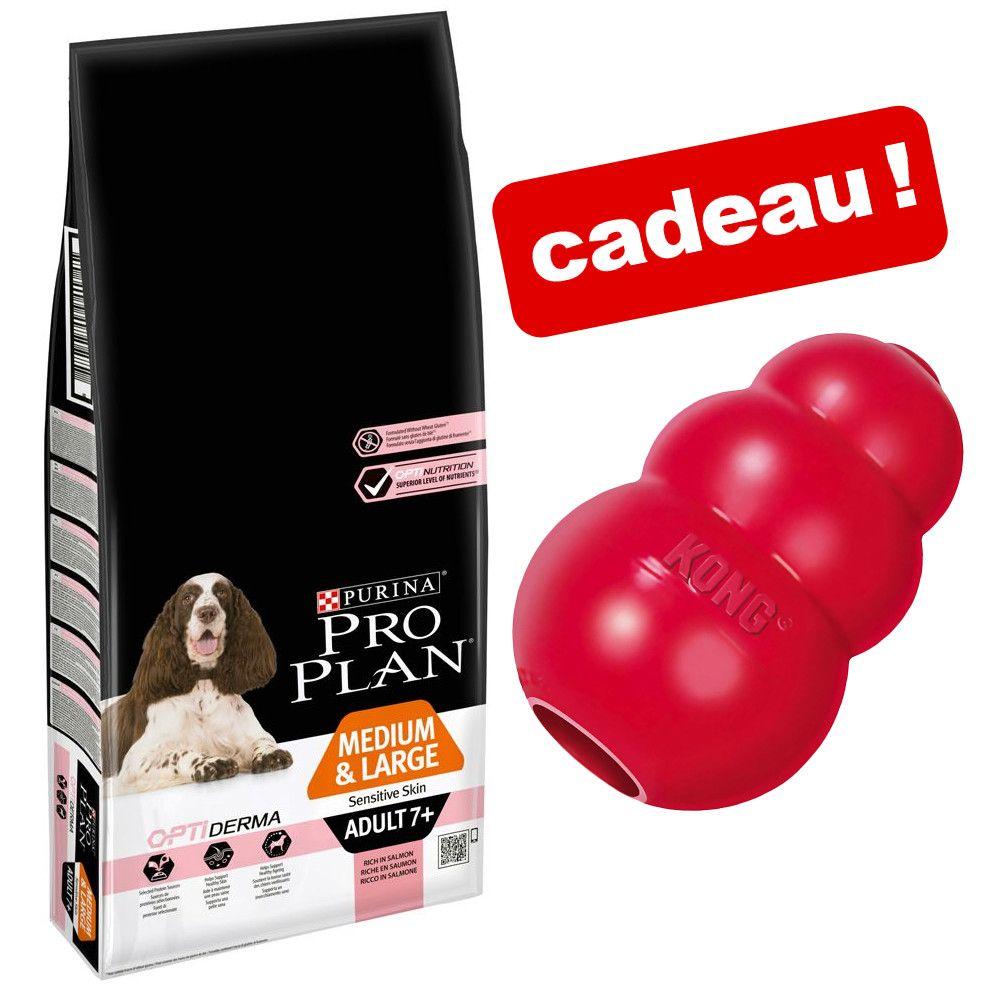 Croquettes Pro Plan 12/14 kg + jouet KONG Classic offert ! - Large Robust Adult Sensitive Digestion agneau (14 kg)