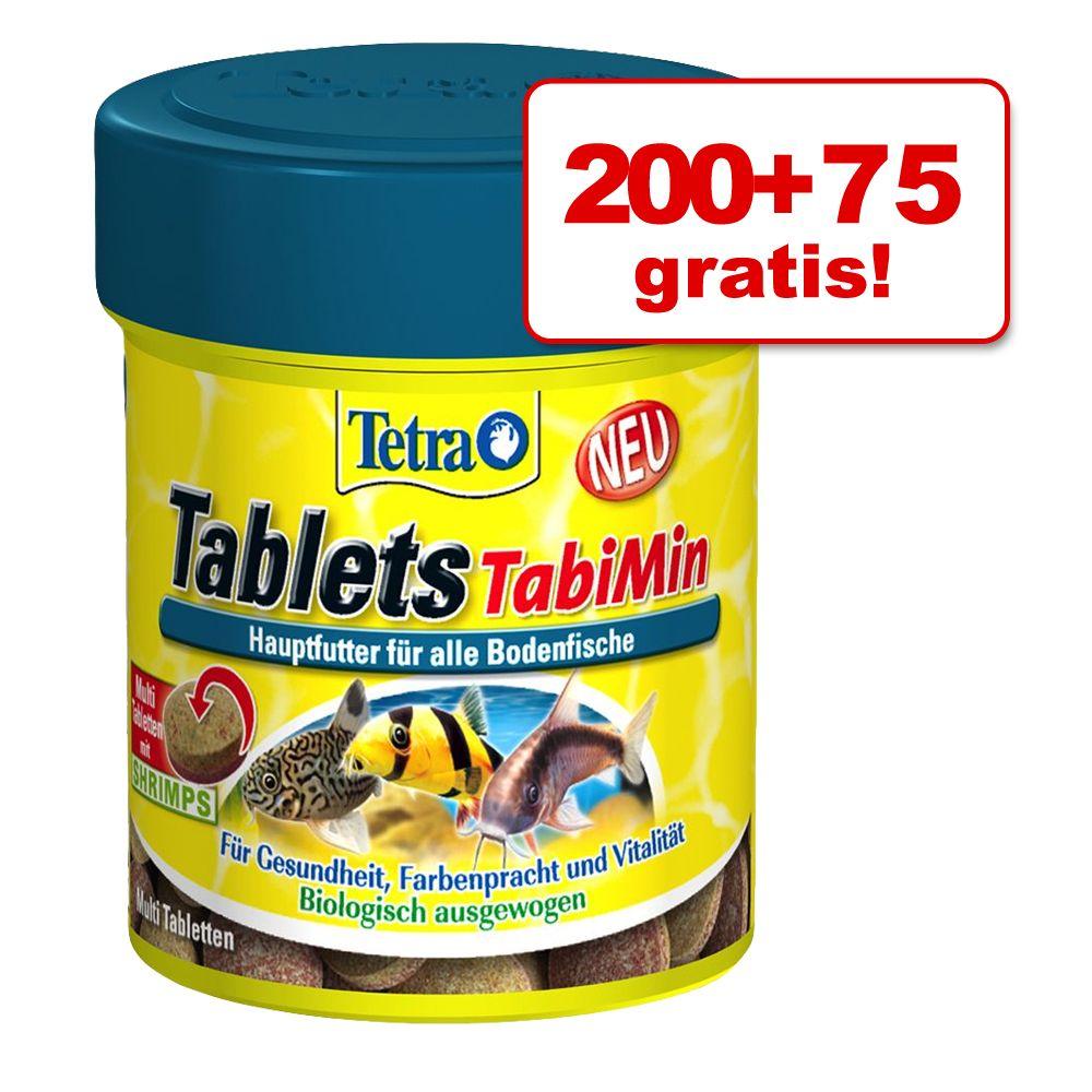 200 + 75 gratis! Tetra TabiMin Pokarm w tabletkach, 275 tabletek - 275 tabletek