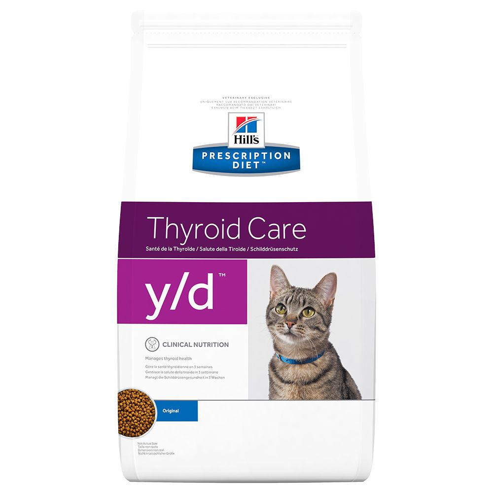 Thyroid Feline Hill's Prescription Diet Dry Cat Food