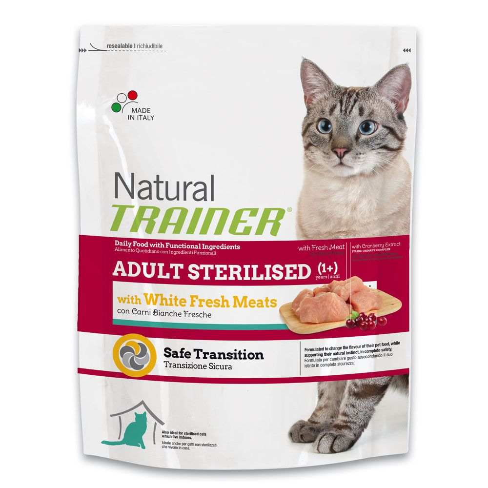 Image of Trainer Natural Sterilised con Carni Bianche Fresche - 3 kg