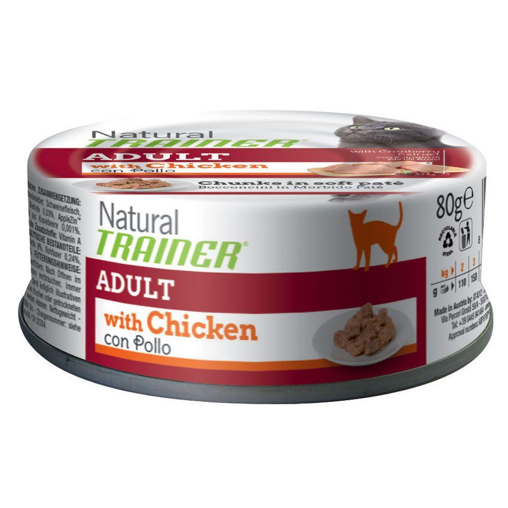 Trainer Natural Adult, kurczak - 24 x 80 g