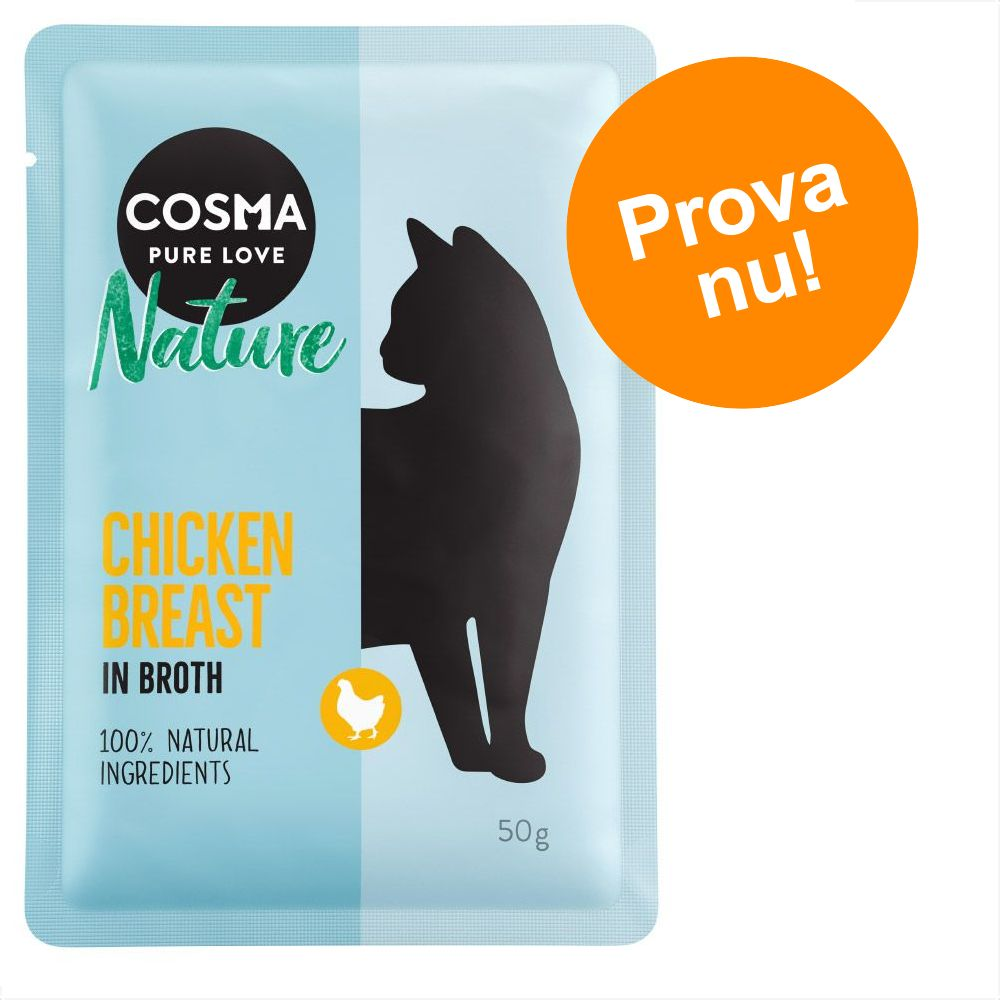 Cosma Nature blandpack i portionspåse - 6 x 50 g