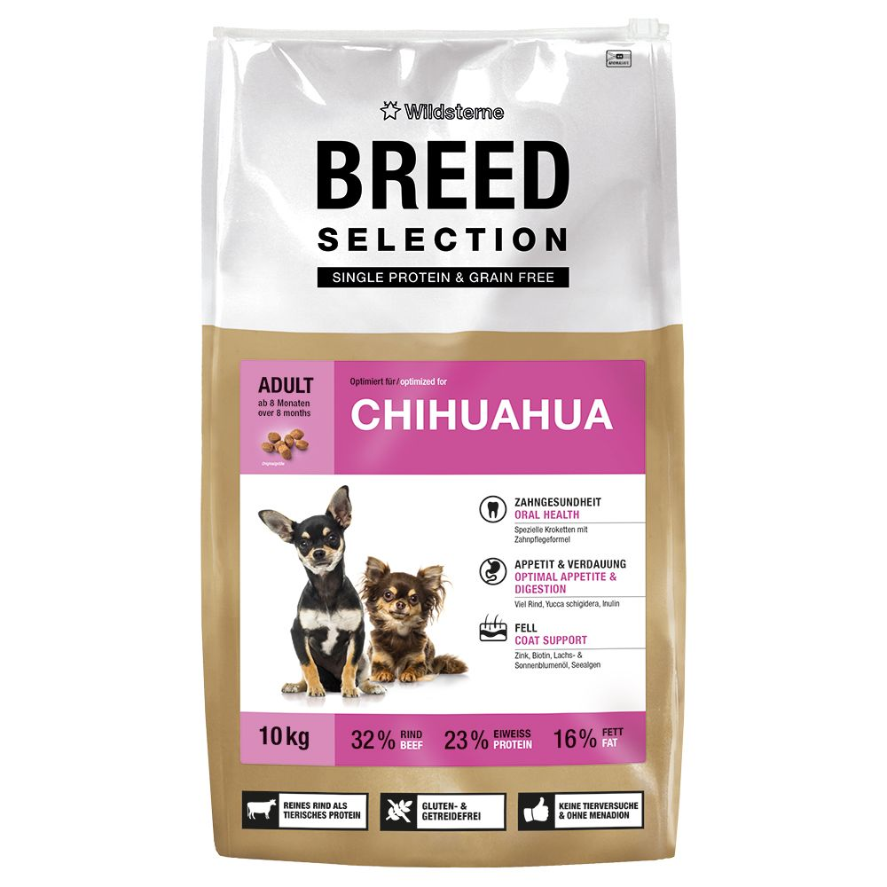 Foto Wildsterne Breed Selection Chihuahua - 2 x 2,5 kg - prezzo top!