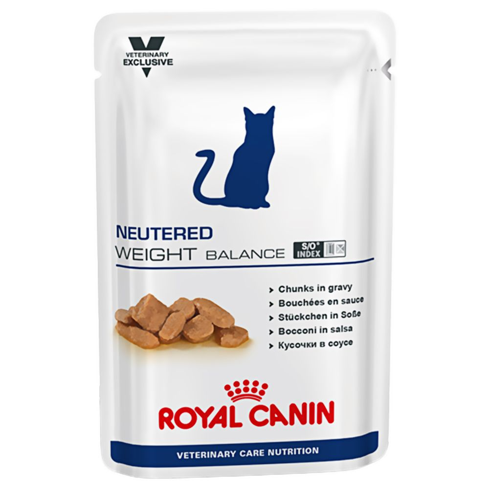 Neutered Weight Balance Feline Royal Canin Veterinary Diet Wet Cat Food
