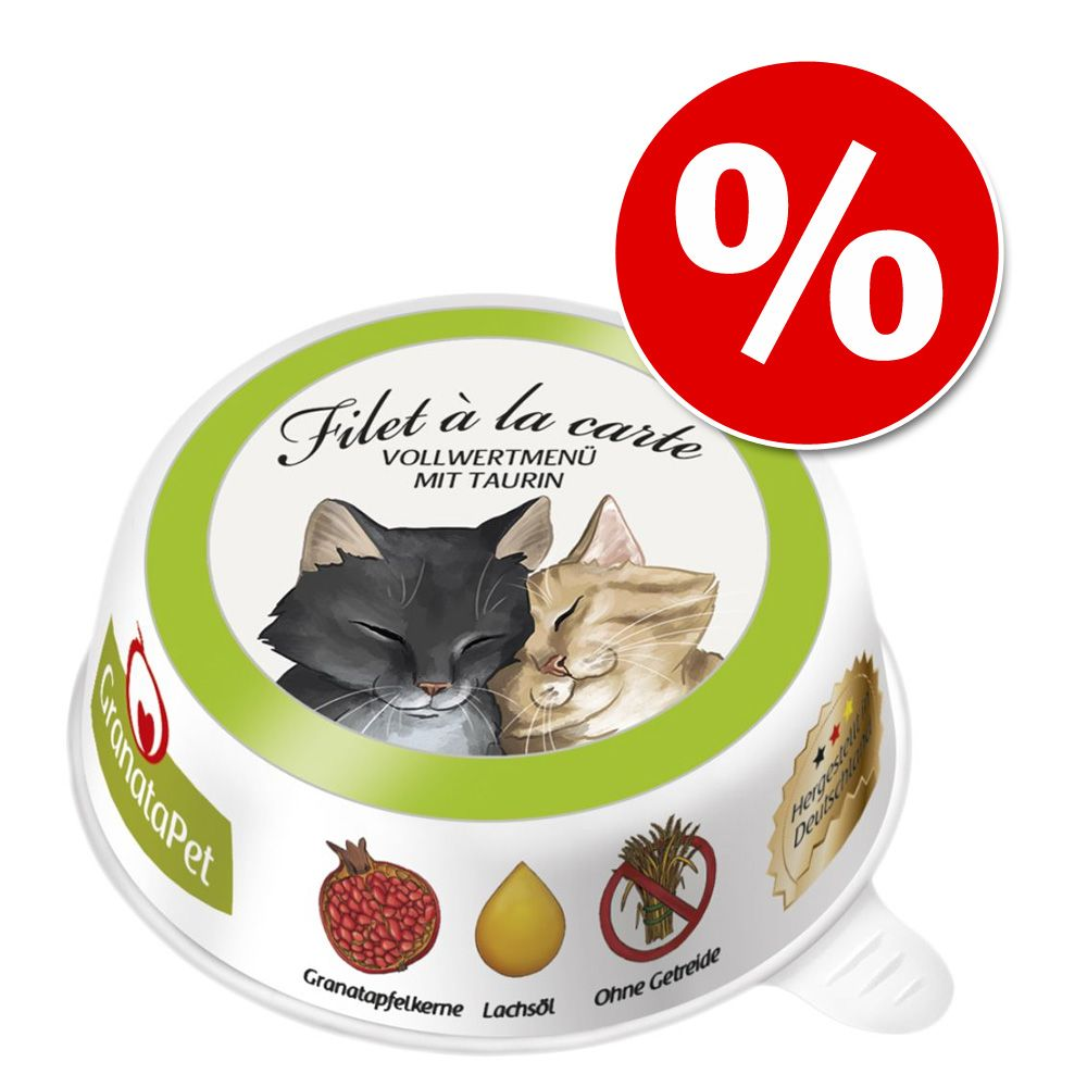 6 x 85 g GranataPet Filet à la carte w super cenie! - Pakiet mieszany (4 smaki)