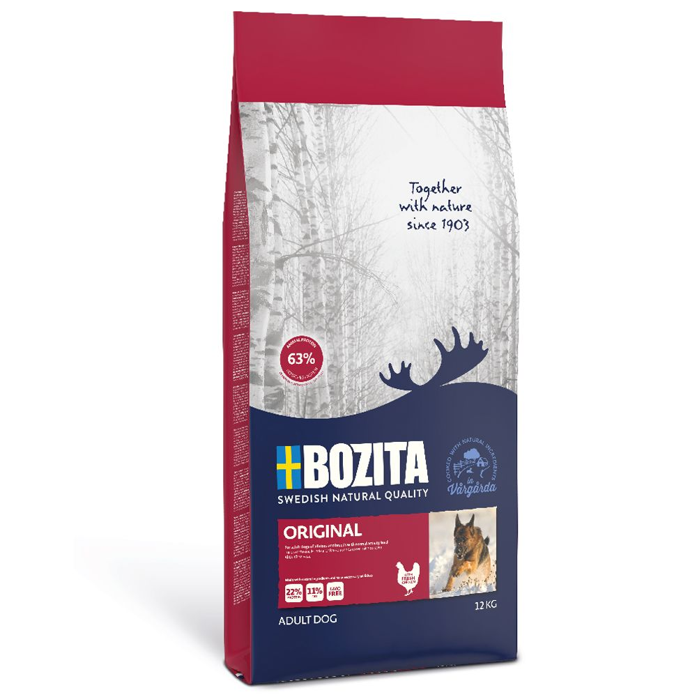 2 x 3,5kg Original Bozita Hundefutter trocken 7311030134232