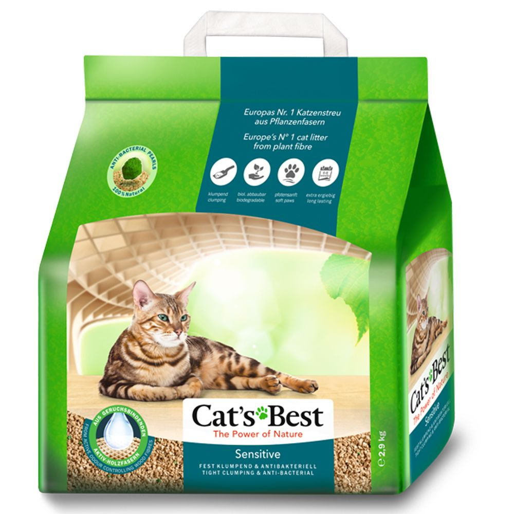 Cat's Best Sensitive kattsand - 20 l (7,2 kg)