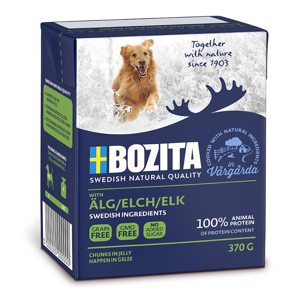 Bozita Häppchen in Gelee 6 x 370 g - Mix: Lachs...