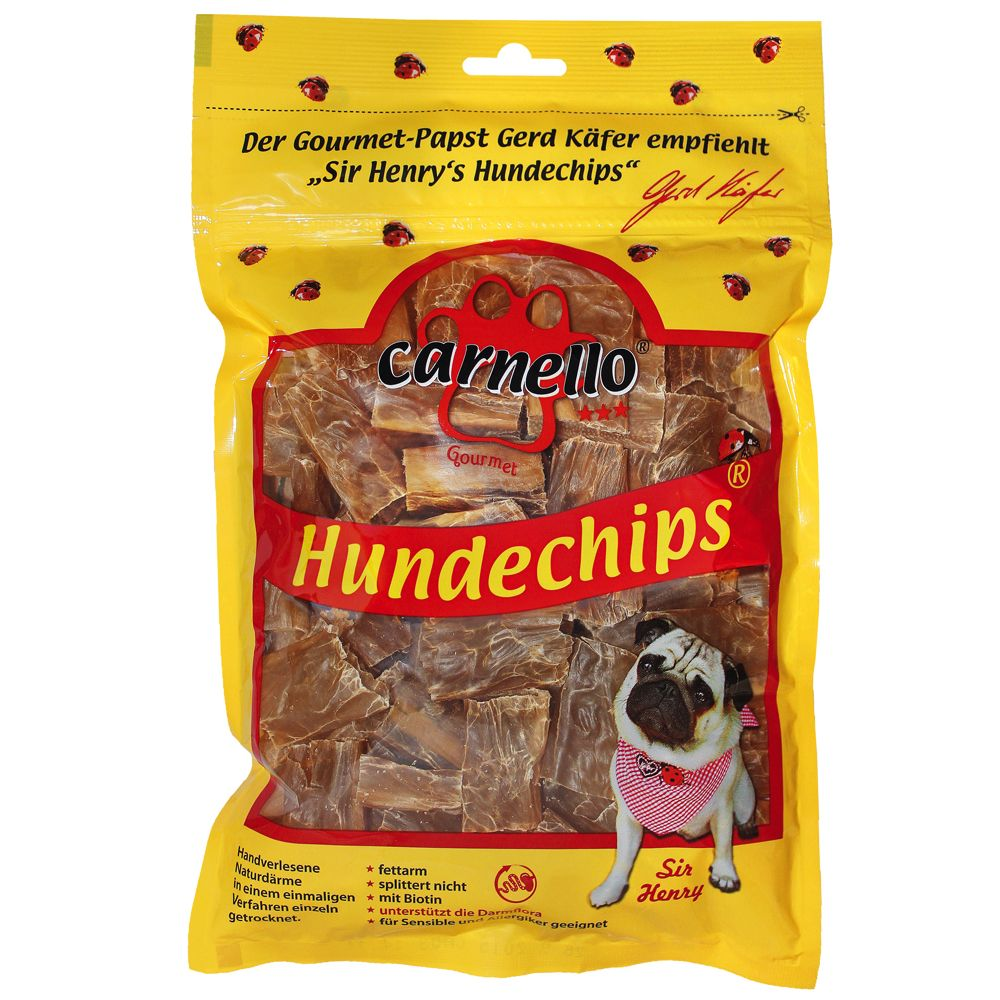 Carnello Dog Crisps - Saver Pack: 3 x 60g