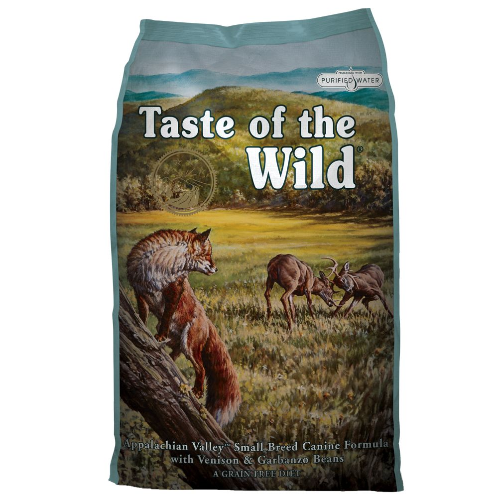 Taste of the Wild Small Breed Appalachian Valley - 2 x 6 kg