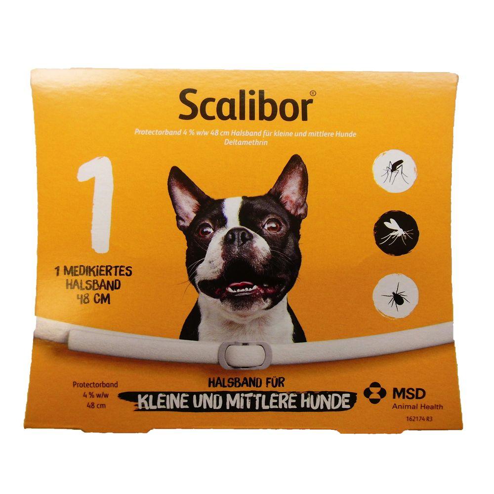 Image of Scalibor® collare antiparassitario per cani tg media e piccola - 48 cm - principio attivo 0,760 g