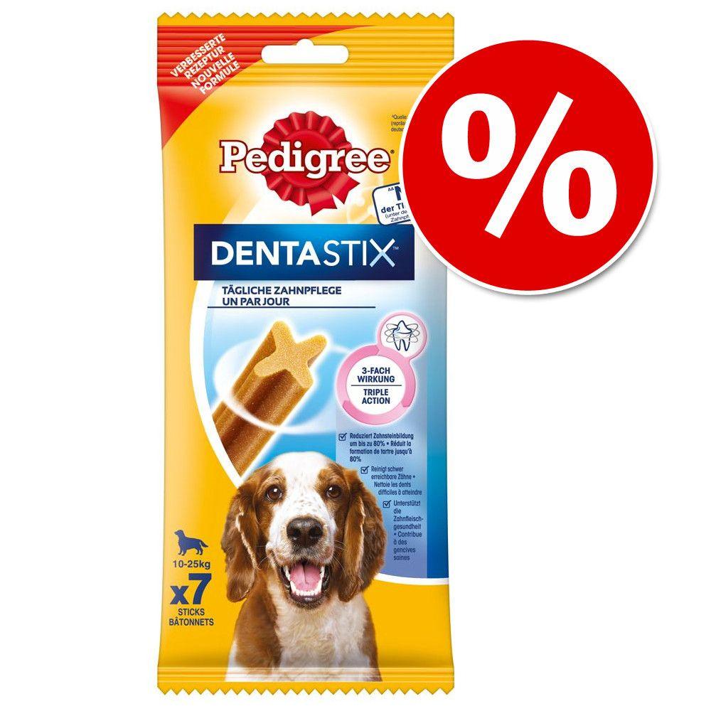 Pedigree DentaStix codzienna pielęgnacja zębów, 3 x 7 szt. w super cenie! - Dla małych psów, 330 g