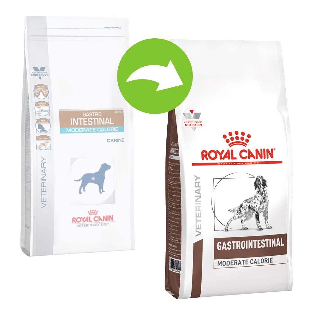 Royal Canin Veterinary Diet Canine Gastro Intestinal Moderate Calorie Ekonomipack: 2 x 15 kg