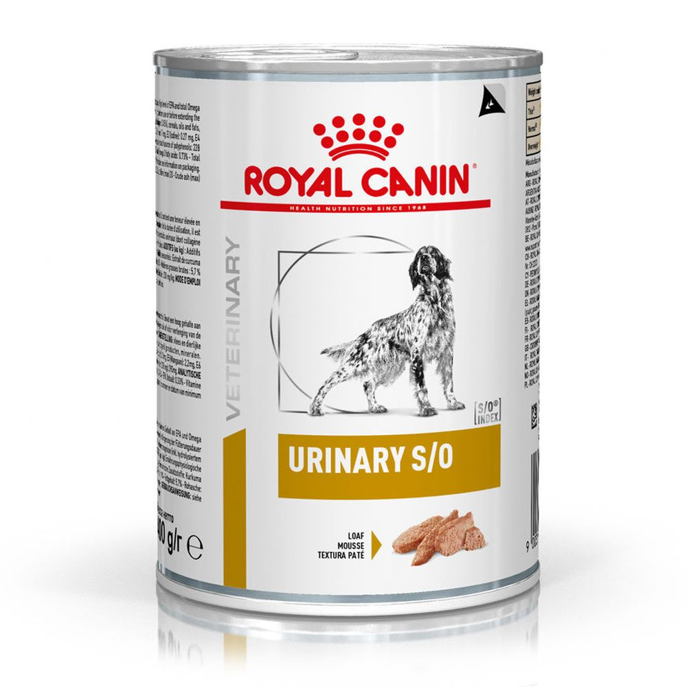 12x410g Urinary S/O Royal Canin Veterinary Diet Wet Dog Food