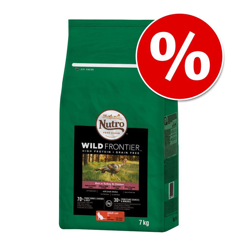 Nutro torrfoder för katt till sparpris! - Grain Free: Adult Salmon & Whitefish (4 kg)